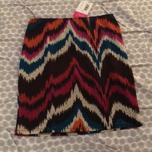 Multi-colored Skirt by Catch My I